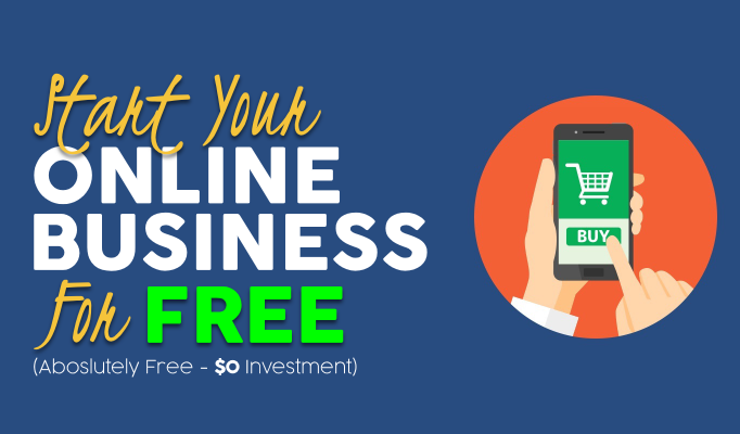 Start Your Online Business for Free