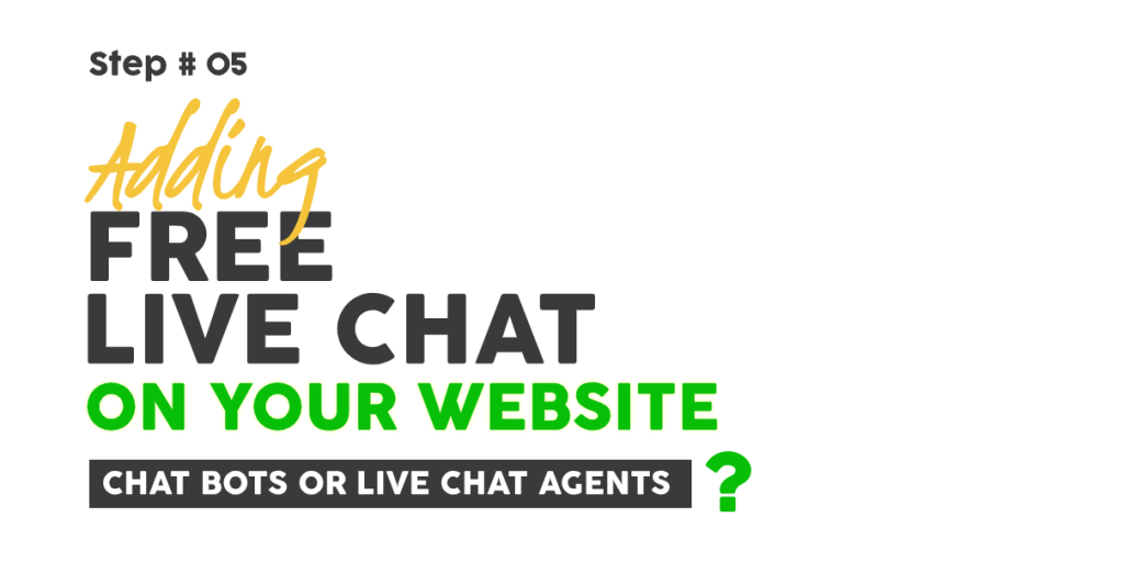 Adding Free Live Chat On Your Website